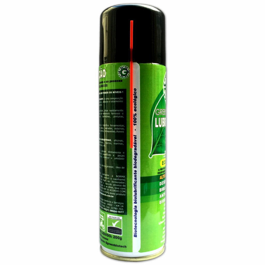 Biolubrificante Green Biotech Biodegradavel